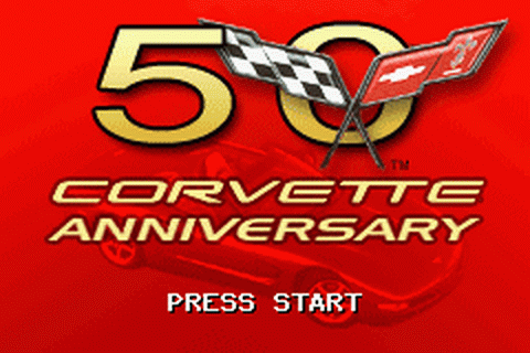 Corvette title screenshot