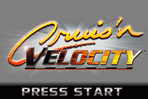 Cruis'n Velocity title screenshot