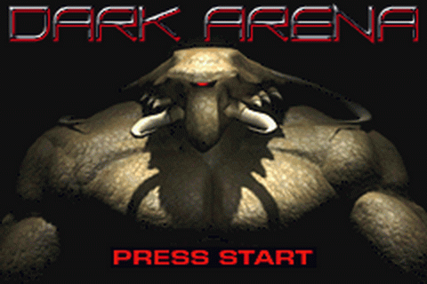 Dark Arena title screenshot