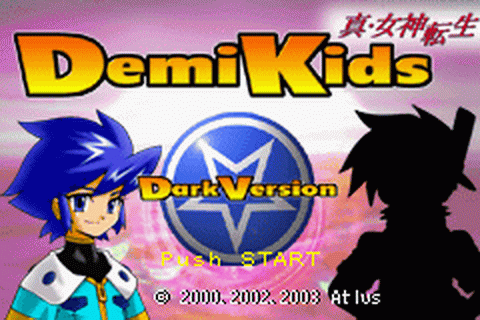 DemiKids - Dark Version title screenshot