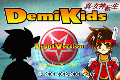 DemiKids - Light Version title screenshot