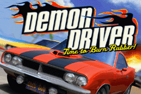 Demon Driver - Time to Burn Rubber! title screenshot