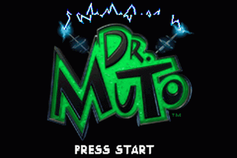 Dr. Muto title screenshot