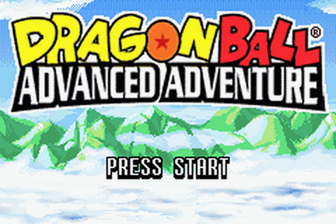 Dragon Ball - Advanced Adventure title screenshot