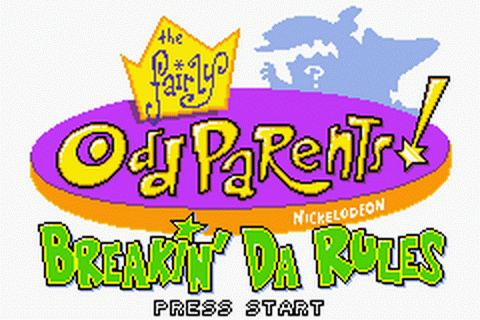 Fairly OddParents!, The - Breakin' da Rules title screenshot