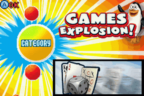Games Explosion! title screenshot