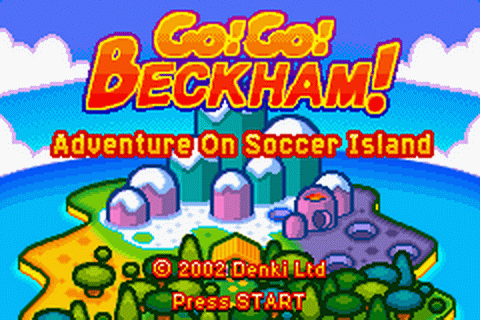 Go! Go! Beckham! - Adventure on Soccer Island title screenshot