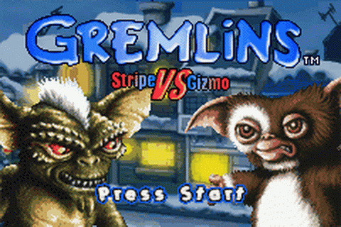 Gremlins - Stripe vs Gizmo title screenshot