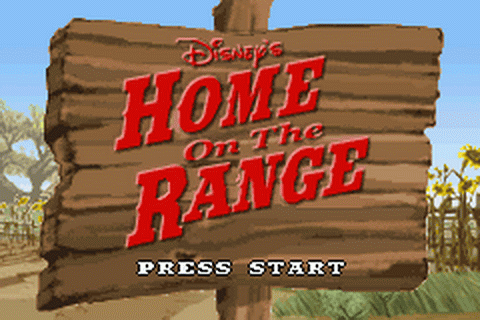 Home on the Range title screenshot