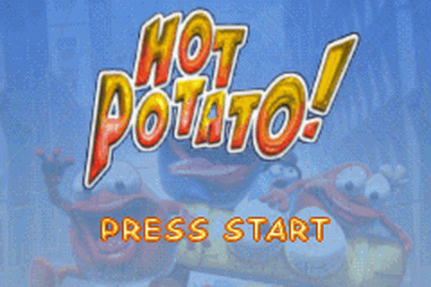 Hot Potato! title screenshot