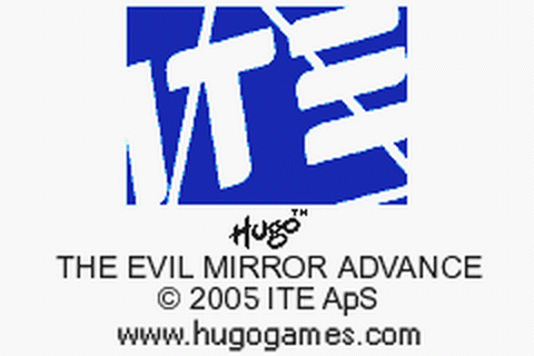 Hugo - The Evil Mirror Advance title screenshot