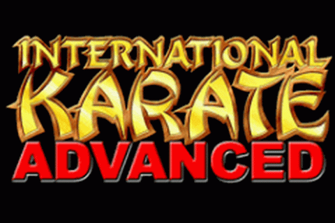 International Karate Advanced title screenshot