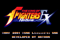 King of Fighters EX, The - NeoBlood title screenshot