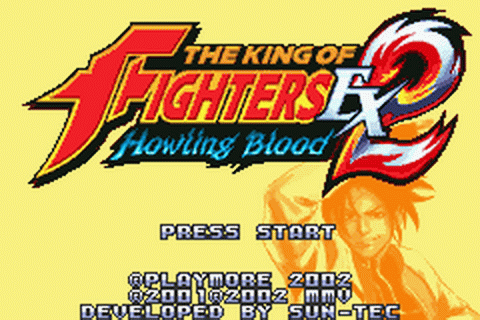 King of Fighters EX2, The - Howling Blood title screenshot