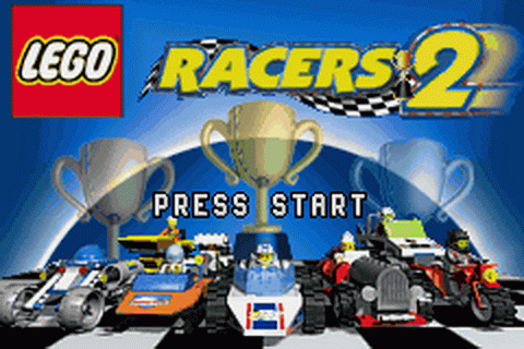 LEGO Racers 2 title screenshot