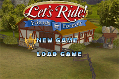 Let's Ride! - Friends Forever title screenshot