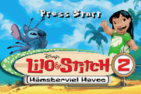 Lilo & Stitch 2 - Haemsterviel Havoc title screenshot