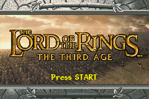 Lord of the Rings, The - The Third Age title screenshot