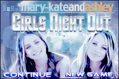 Mary-Kate and Ashley - Girls Night Out title screenshot