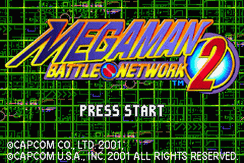 Mega Man Battle Network 2 title screenshot