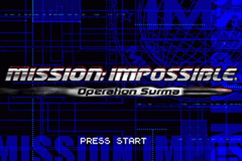Mission Impossible - Operation Surma title screenshot