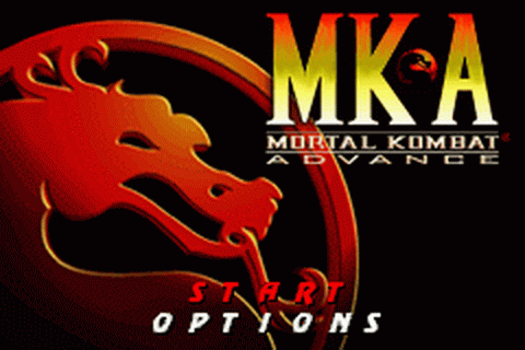 Mortal Kombat Advance title screenshot