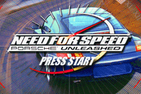 Need for Speed - Porsche Unleashed title screenshot