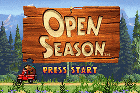 Open Season title screenshot