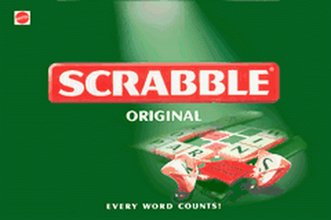 Scrabble title screenshot