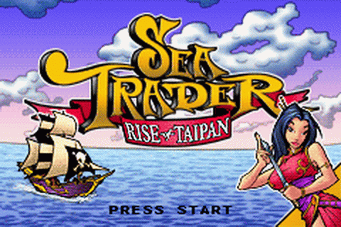 Sea Trader - Rise of Taipan title screenshot