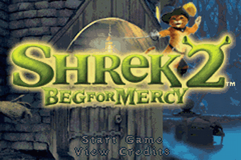 Shrek 2 - Beg for Mercy title screenshot