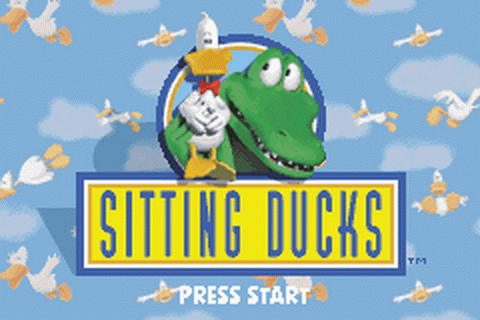Sitting Ducks title screenshot
