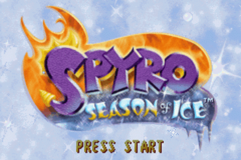 Spyro Superpack title screenshot