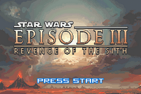 Star Wars - Episode III - Revenge of the Sith title screenshot