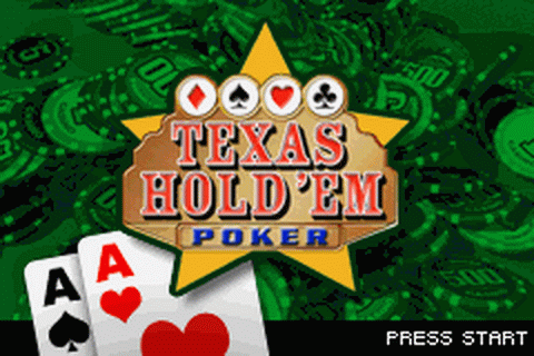 Texas Hold 'em Poker title screenshot