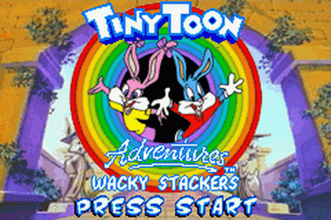 Tiny Toon Adventures - Wacky Stackers title screenshot