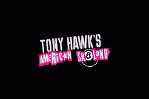 Tony Hawk's American Sk8land title screenshot