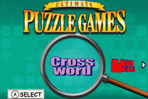 Ultimate Puzzle Games title screenshot