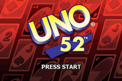 Uno 52 title screenshot