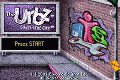 Urbz, The - Sims in the City title screenshot