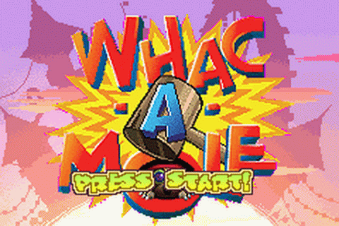 Whac-A-Mole title screenshot