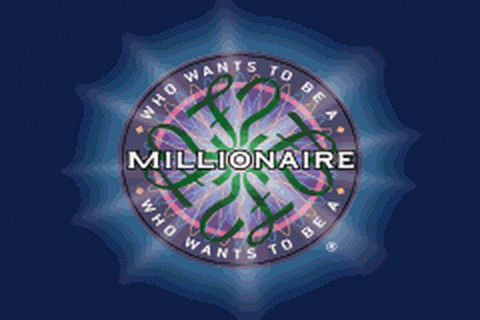 Who Wants to Be a Millionaire title screenshot