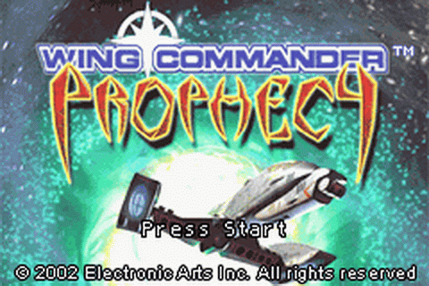 Wing Commander - Prophecy title screenshot