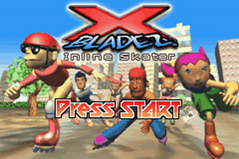 X-Bladez - Inline Skater title screenshot