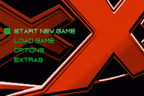 xXx title screenshot