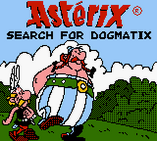 Asterix - Search for Dogmatix title screenshot