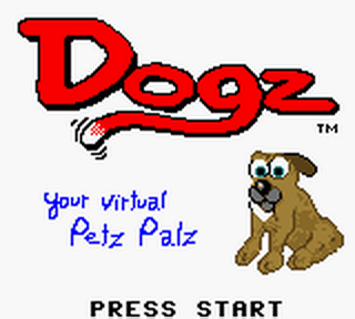 Dogz - Your Virtual Petz Palz title screenshot