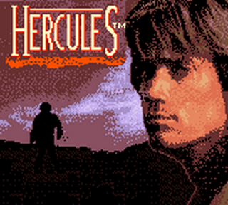 Hercules - The Legendary Journeys title screenshot