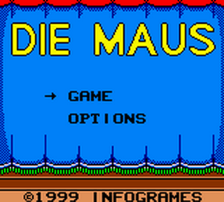 Maus, Die title screenshot