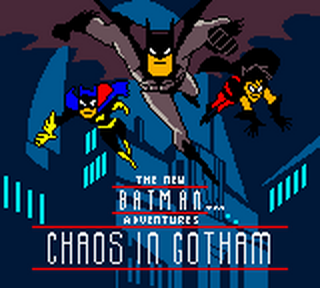 New Batman Adventures, The - Chaos in Gotham title screenshot